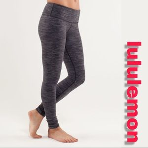 """Lululemon Wunder Under """"Wee Are From Space"""" Pant"""